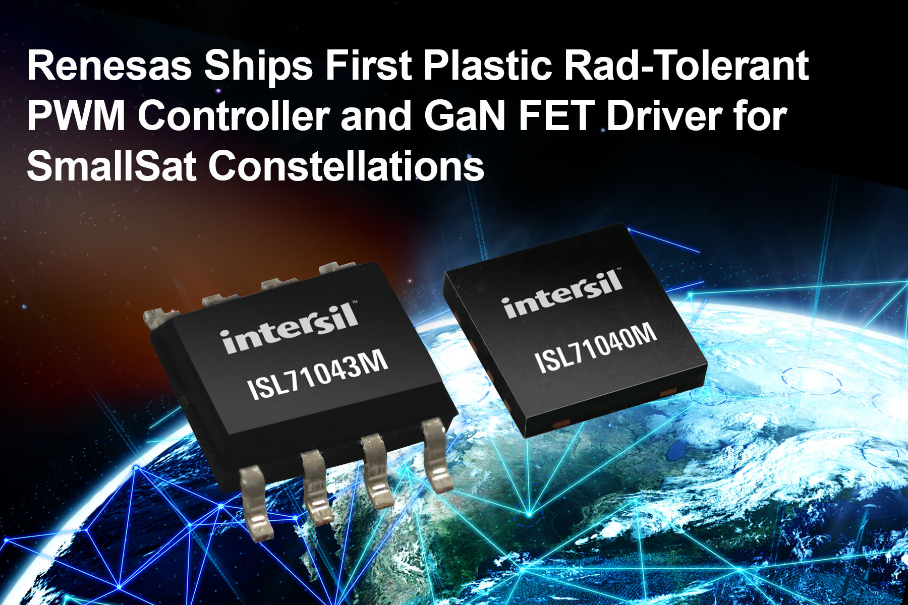 PWM Controller and GaN FET Driver for New Space SmallSats